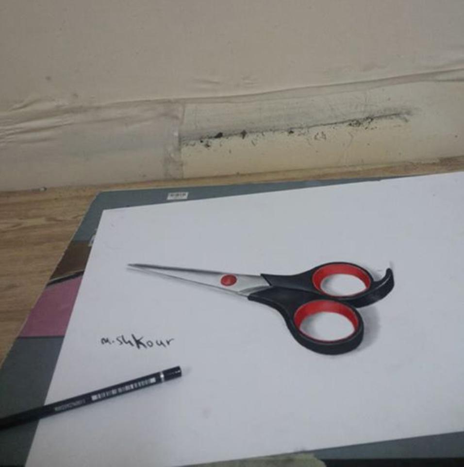 scissors-3d-pencil-drawing-md-shkour