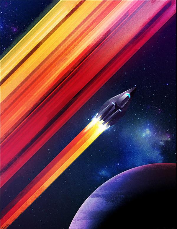 space digital art james