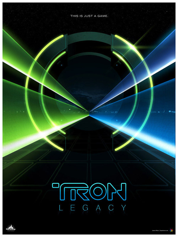 tron digital art james