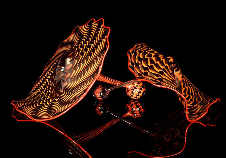 umber persian architecture installation chihuly