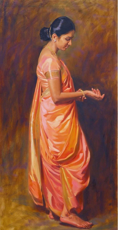 10 oil painting pramod