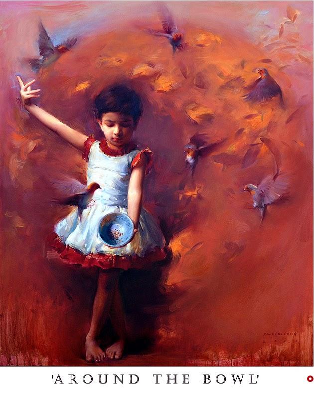 oil painting pramod