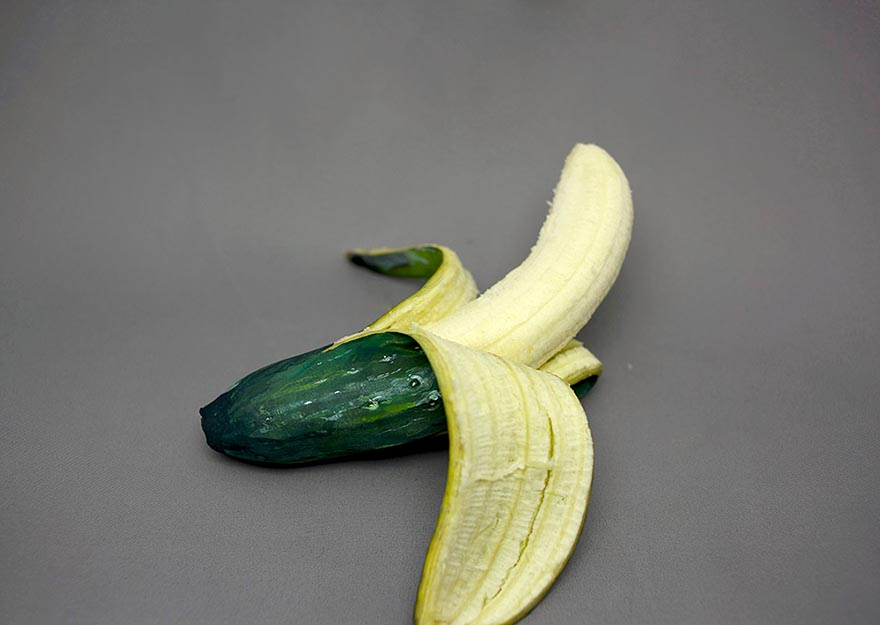 2 realistic illusion painting ideas cucumber banana hikaru cho