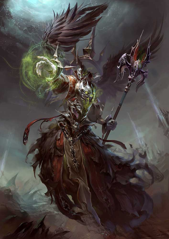 fantasy art yuchenghong