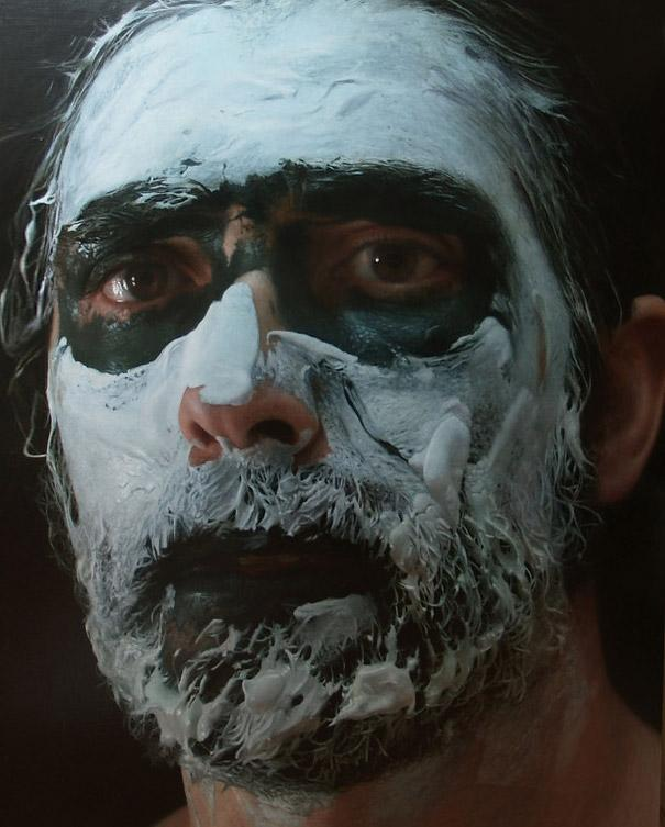 realistic portrait painting by eloy morales