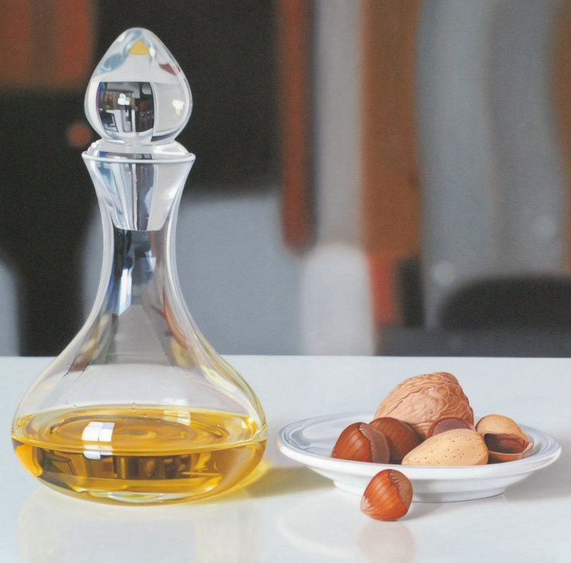 dry fruits oil painting ruddy