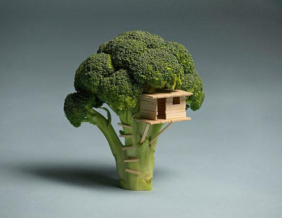 fruit art broccoli sarah illenberger