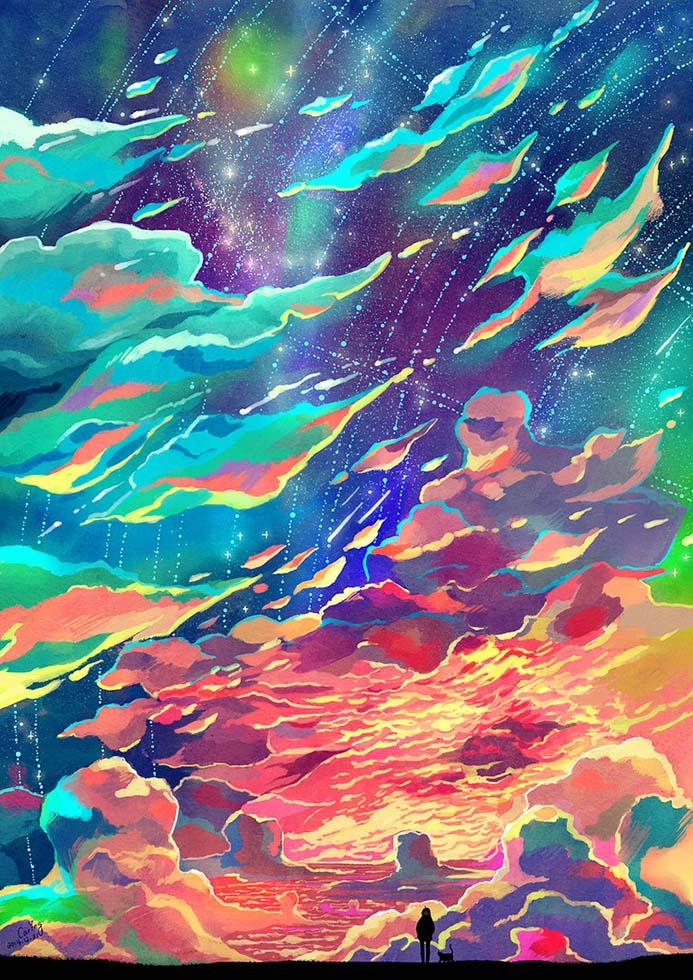 fantasy art by caringwong
