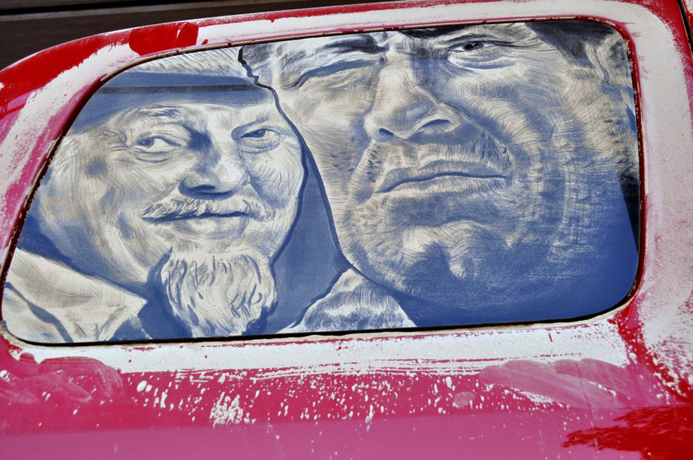11 amazing artwork dirty cars by scott wade's