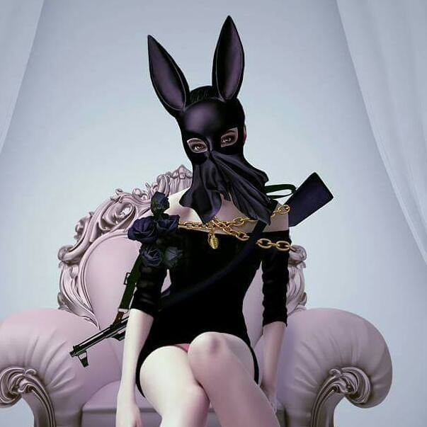 digital art by natalie shau