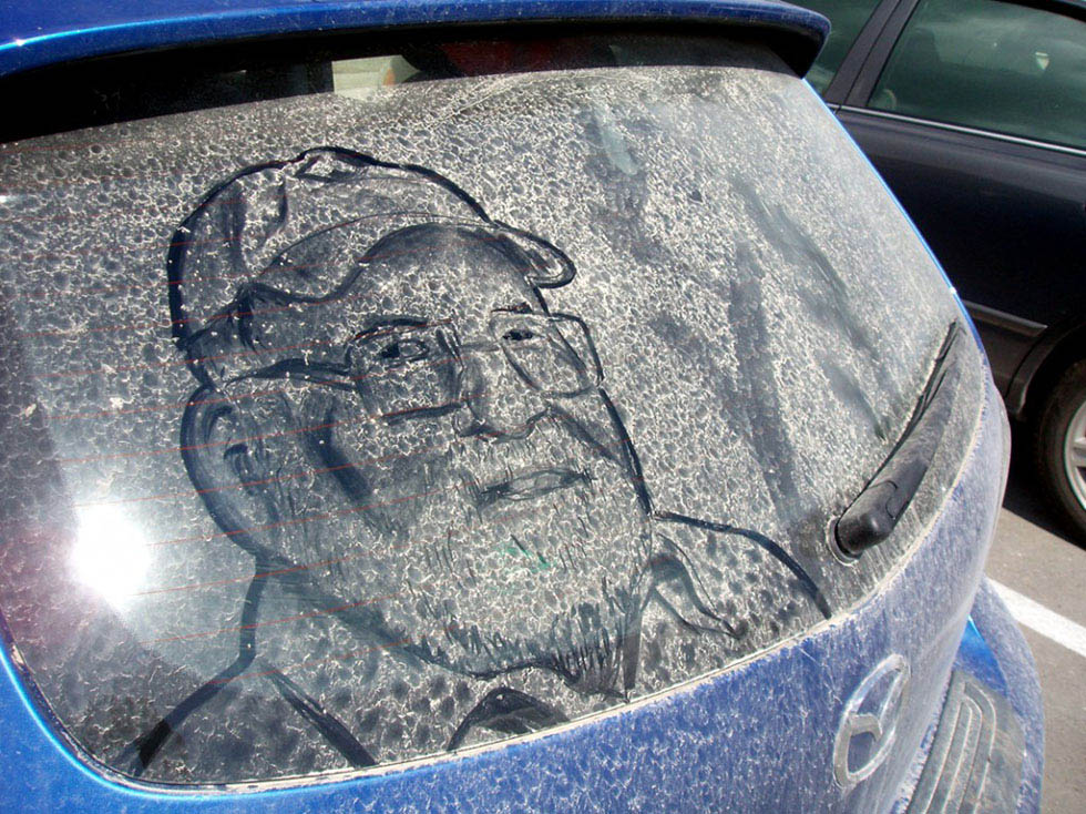 14 amazing artwork dirty cars by scott wade's