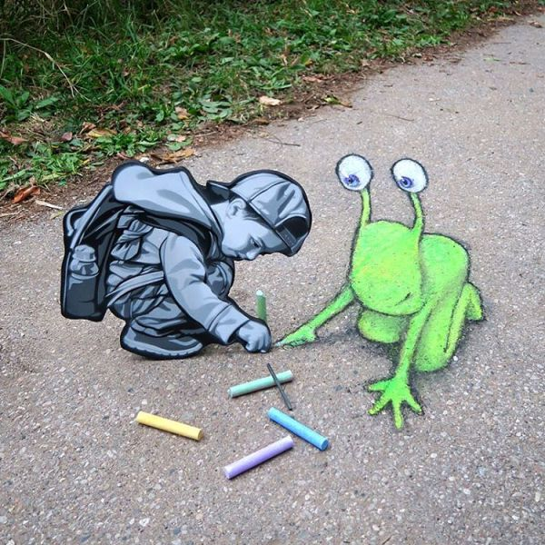 14 street art by david zinn