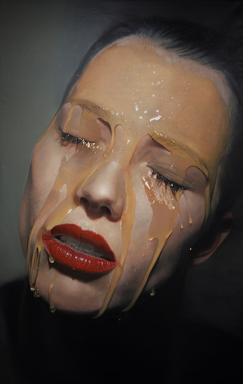 beautiful hyperreal paintings by mike dargas