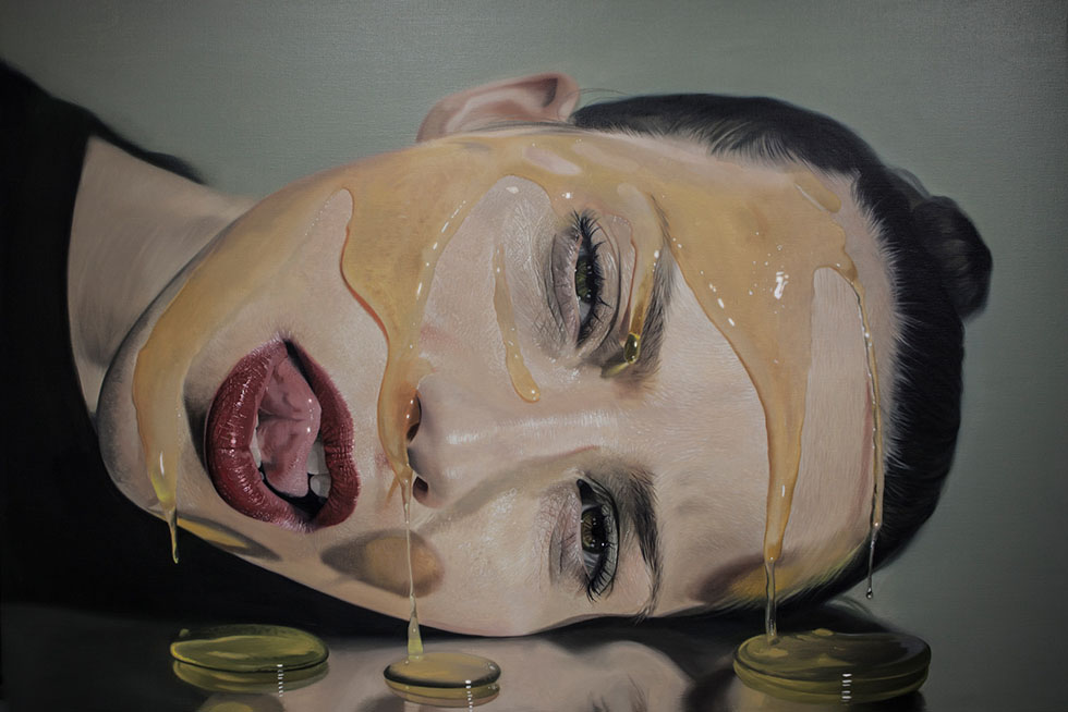 beautiful hyperreal paintings by mike dargas