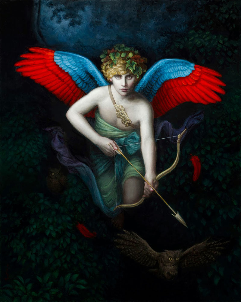 beautiful paintings by chie yoshii