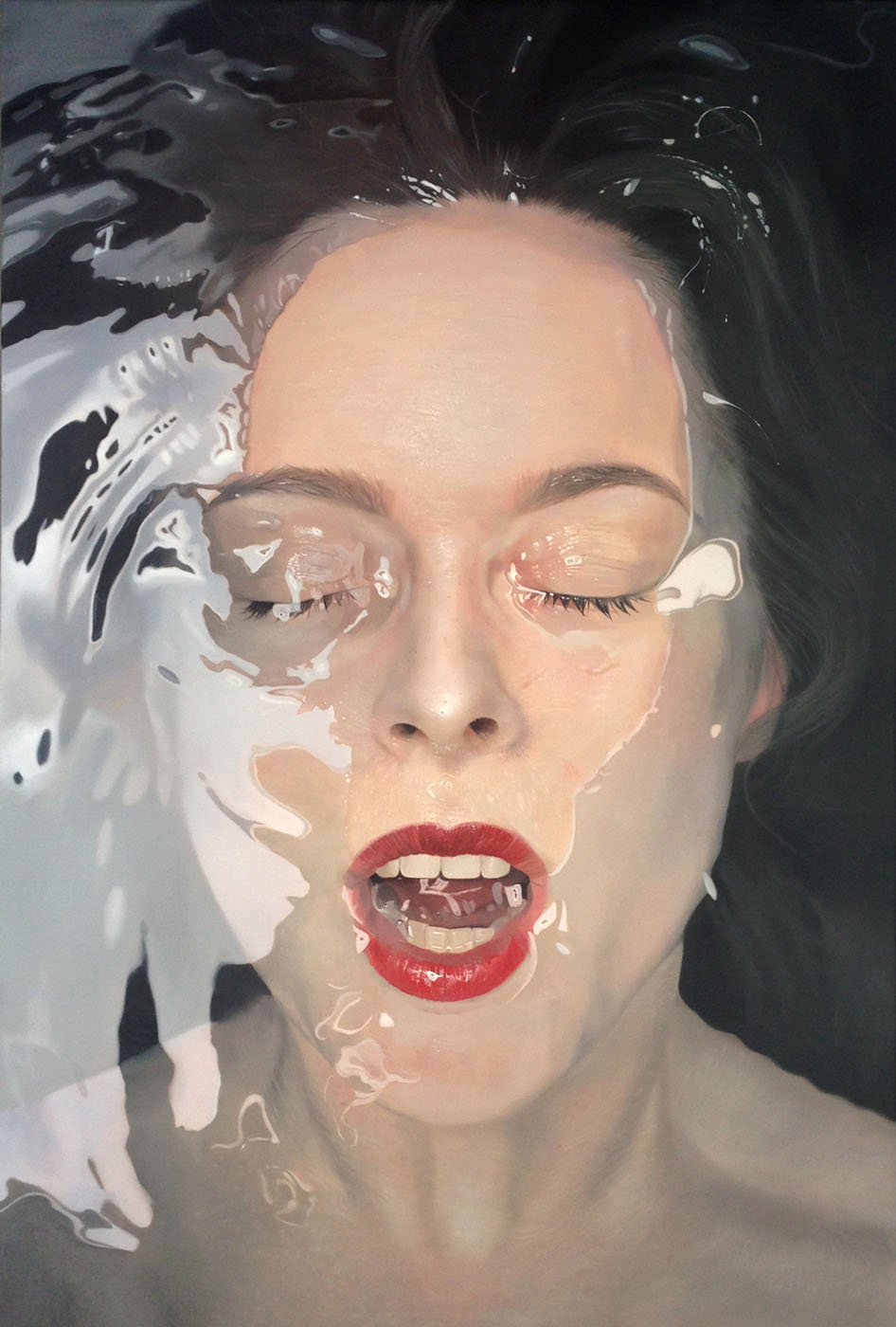 4 beautiful hyperreal paintings by mike dargas