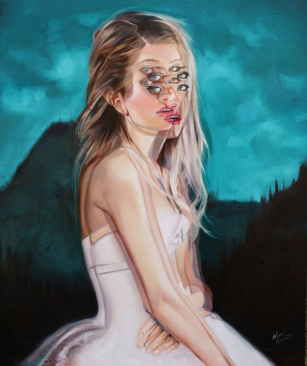 4 illusion painting by alex garant
