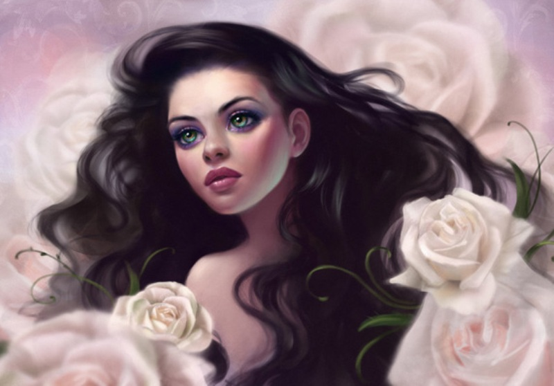 digital painting by selene
