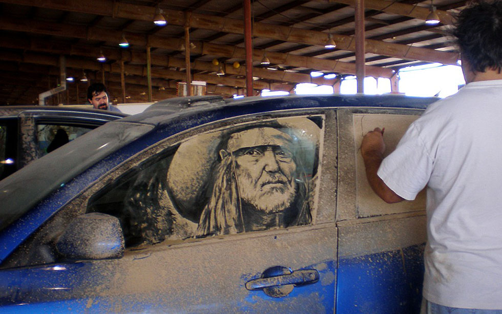 8 amazing artwork dirty cars by scott wade's