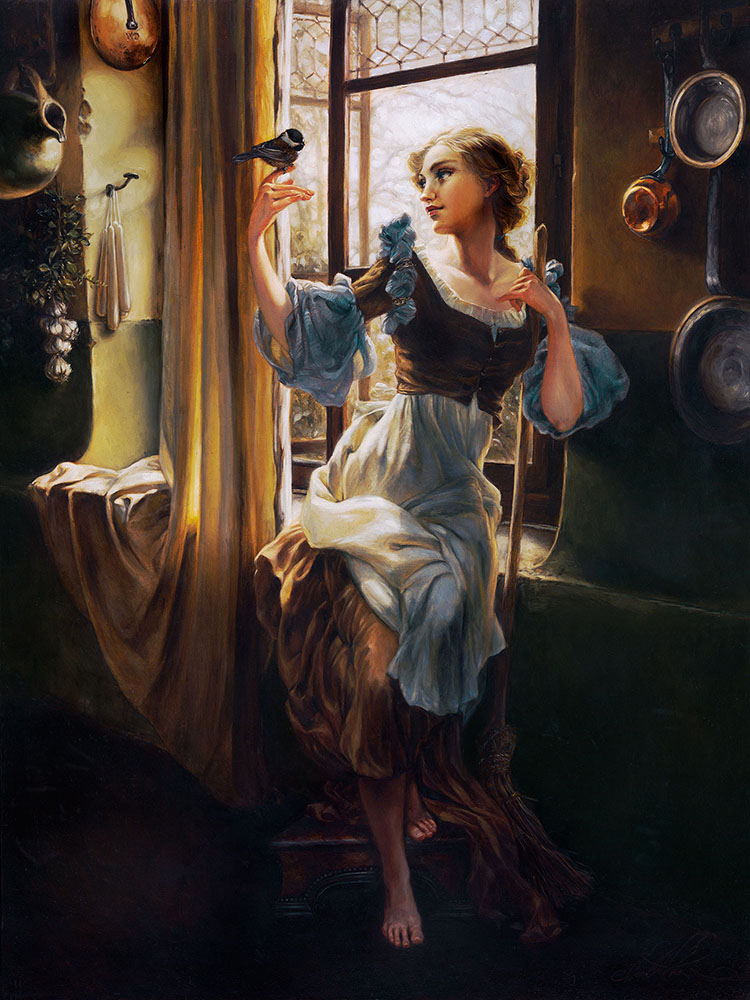 disney painting by heather theurer