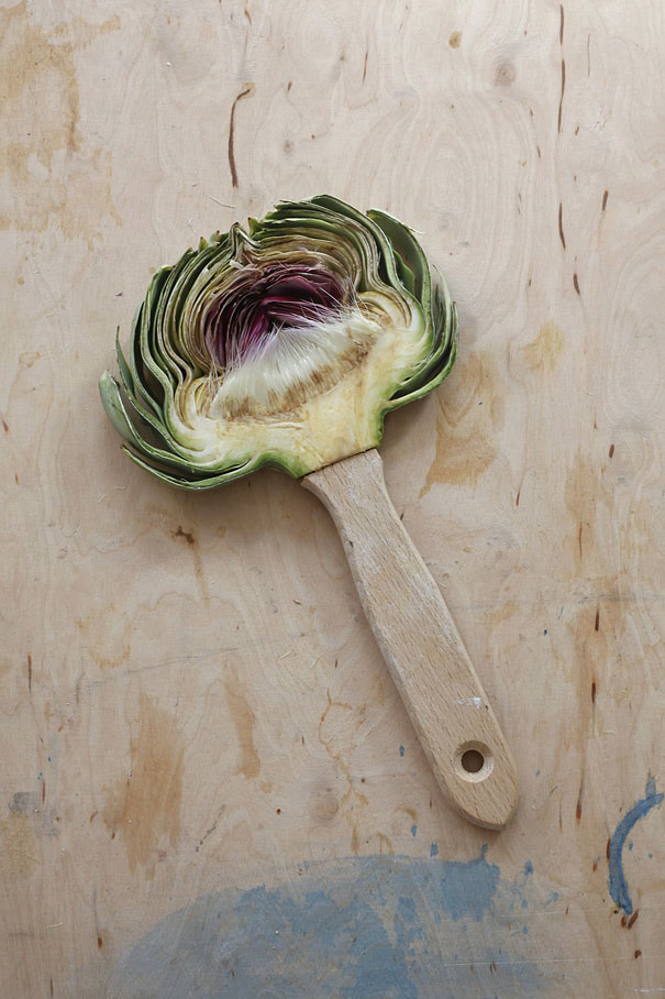 fruit art broom sarah illenberger
