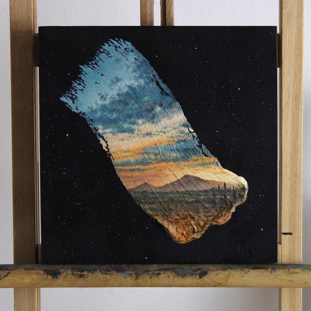 amazing paintings mountains david ambarzumjan