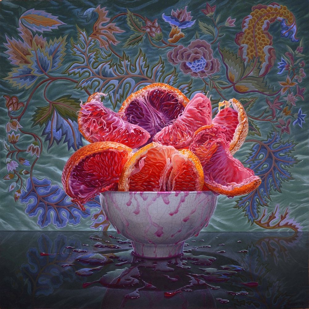 still life oil paintings orange eric wert
