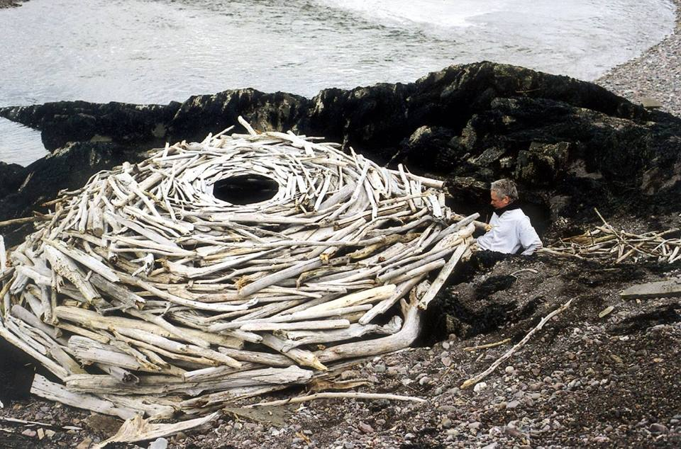 creative art ideas wood andy goldsworthy