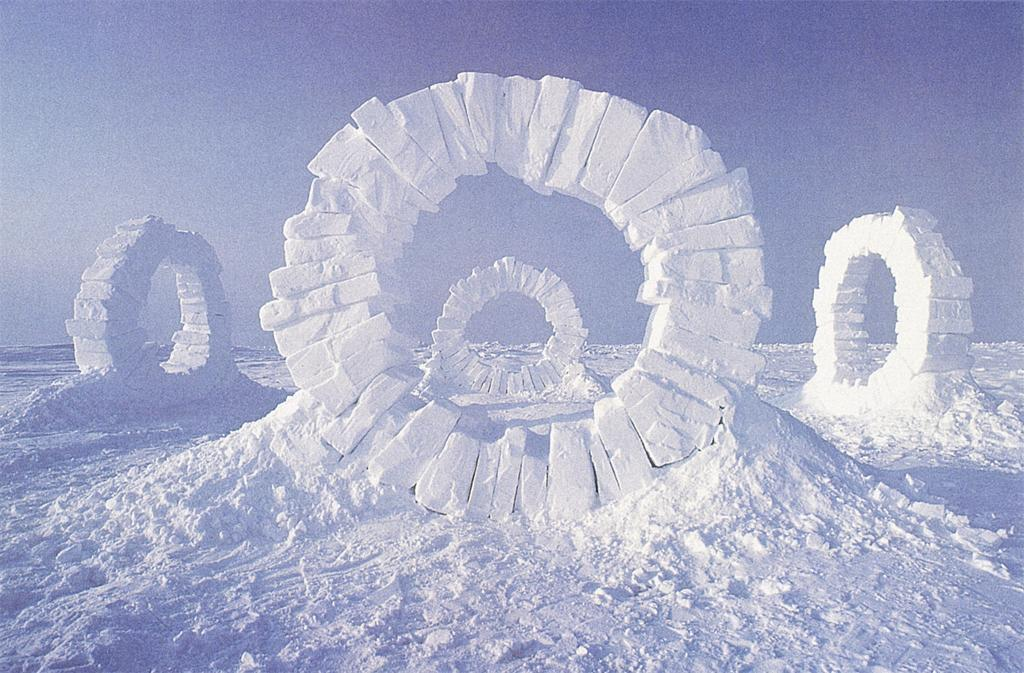creative art ideas ice tied andy goldsworthy