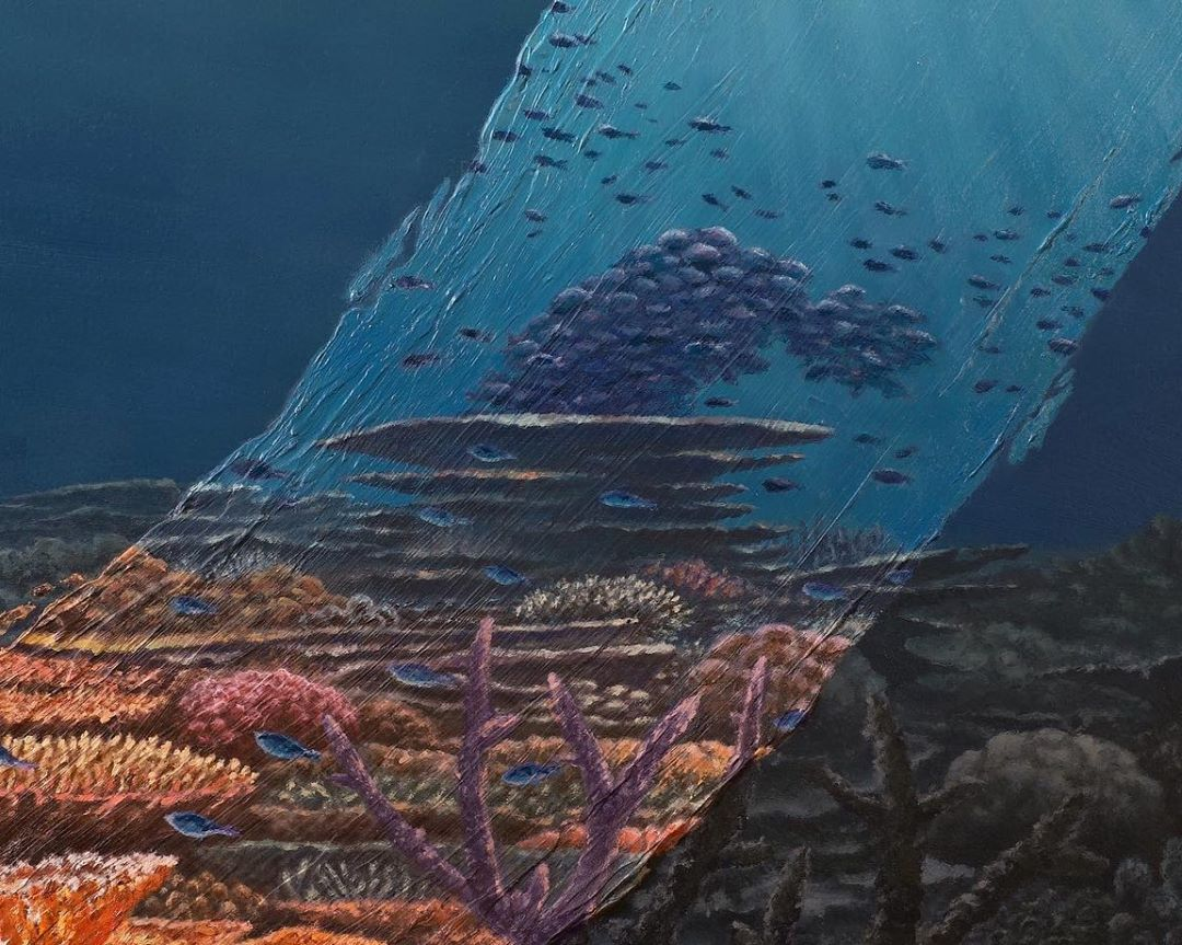 amazing paintings undersea david ambarzumjan