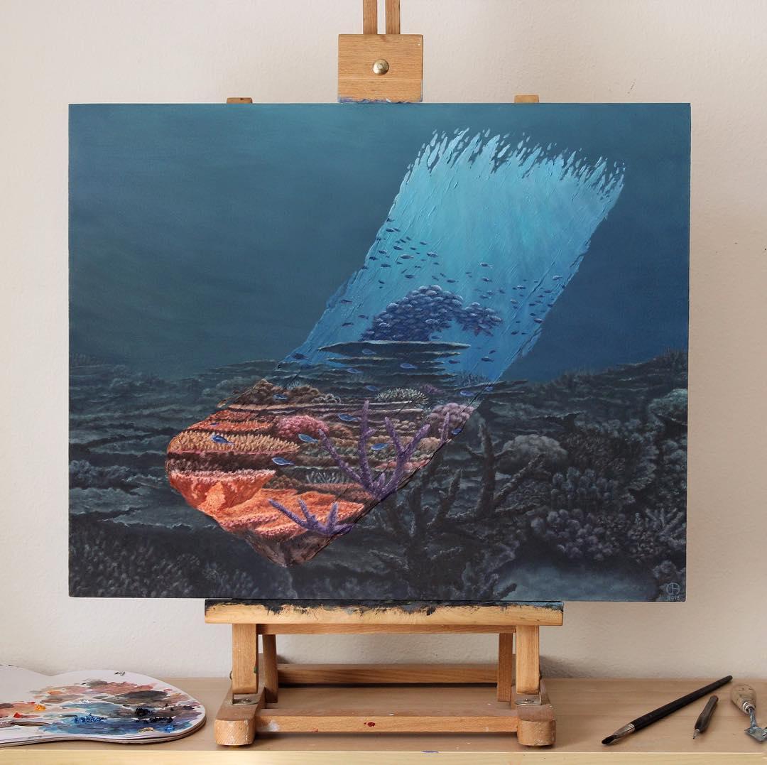 6 amazing paintings under sea david ambarzumjan