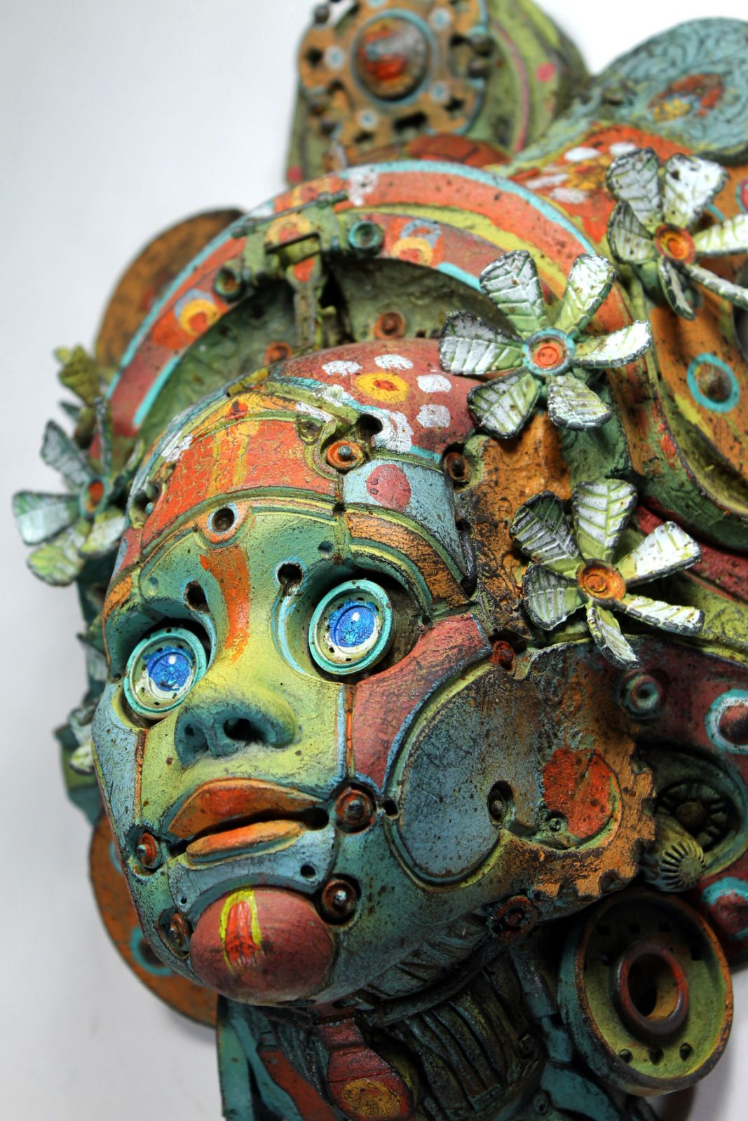 amazing steampunk sculpture hippy betsoebe by tomas barcelo