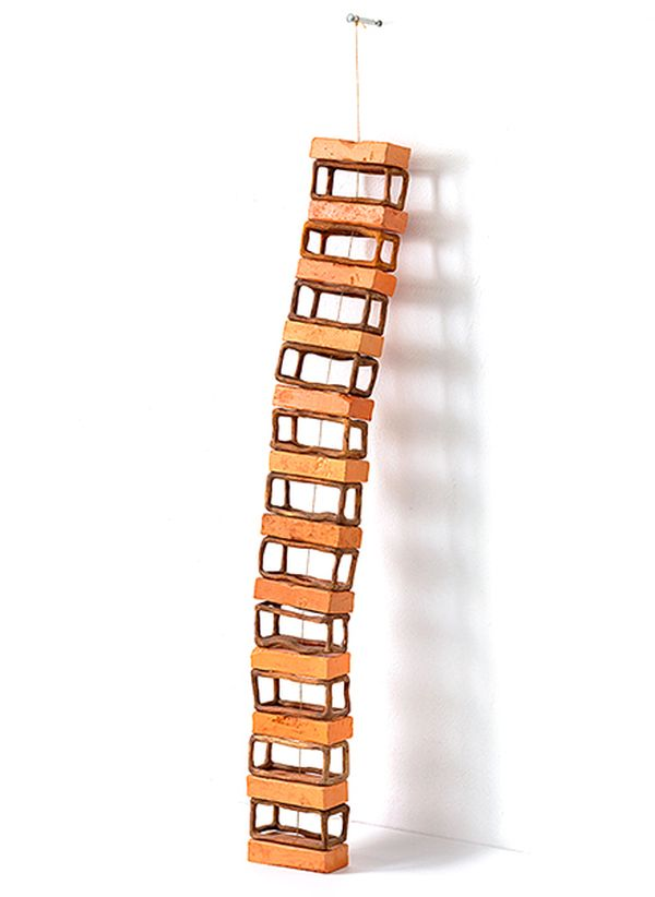 creative wood sculpture ideas ladder by camille kachani