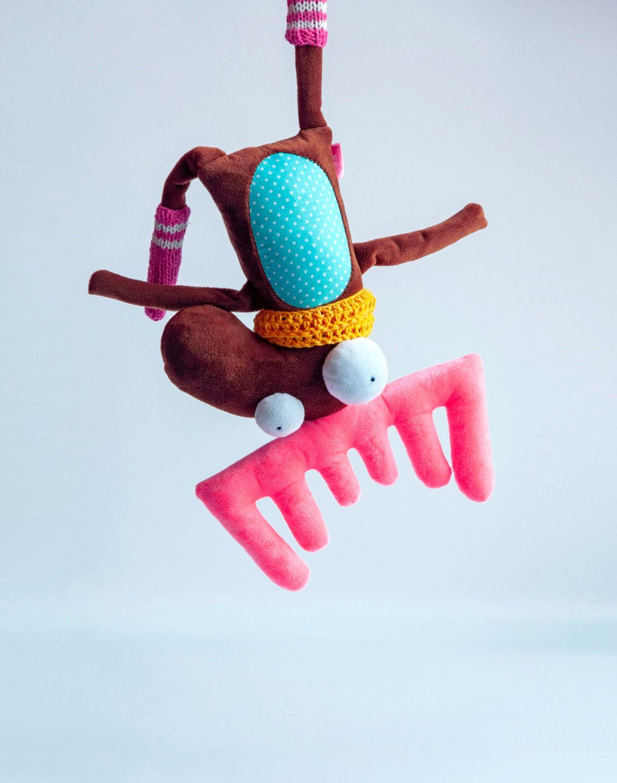 toy character idea jumping reindeer by lidiya marinchuk