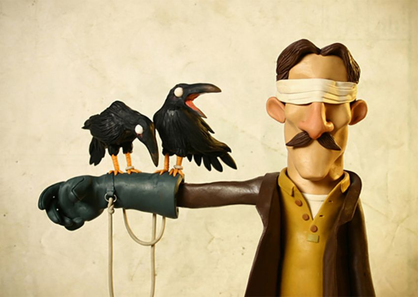creative clay sculptures by gianluca maruotti