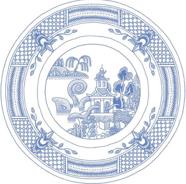 art idea ceramic plate by don moyer