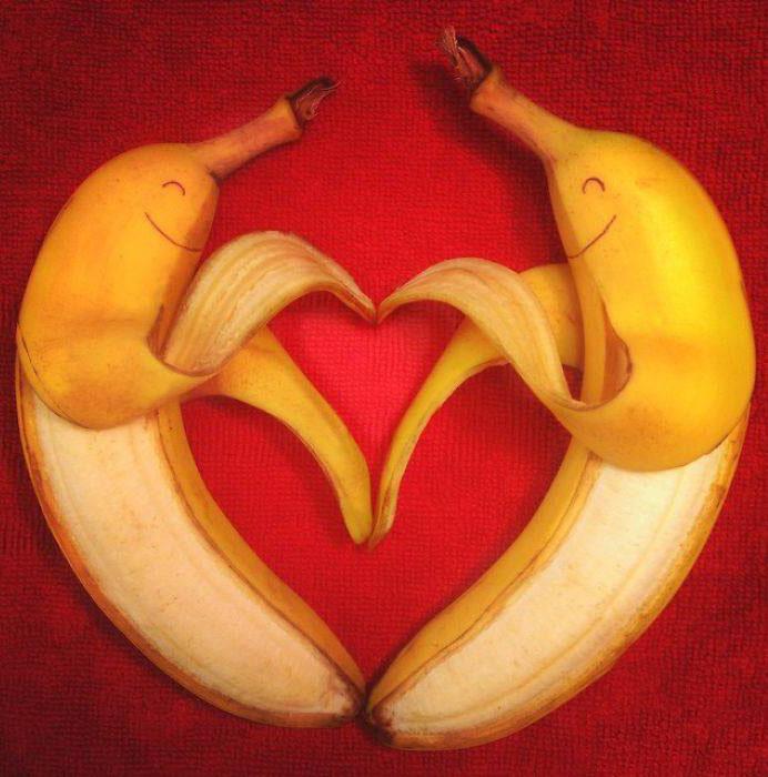 love banana art