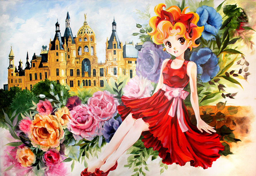 13 juni manga drawings watercolor paintings