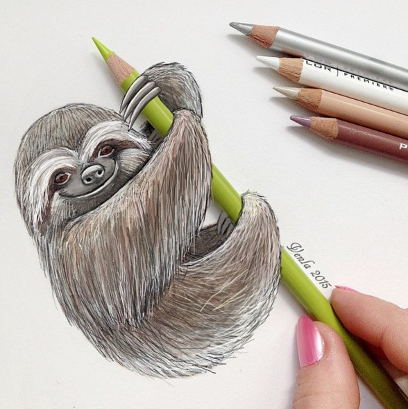 creative drawings by venla hannola