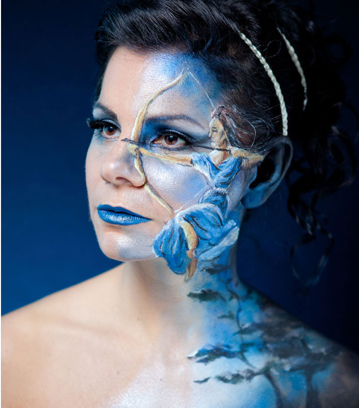 body painting art by emma fay