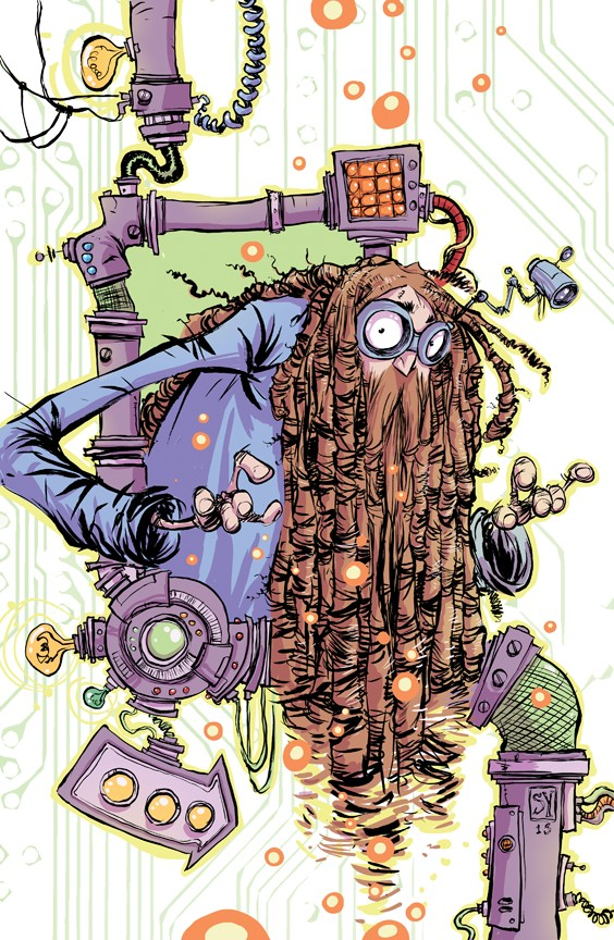 man mission comic art by skottie young