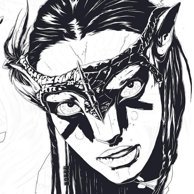 avatar creative drawings by conrado salinas