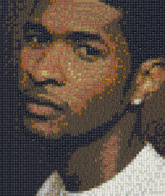 usher raymond portrait drawing by knight