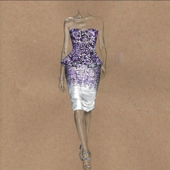 fashion drawings by 3alya