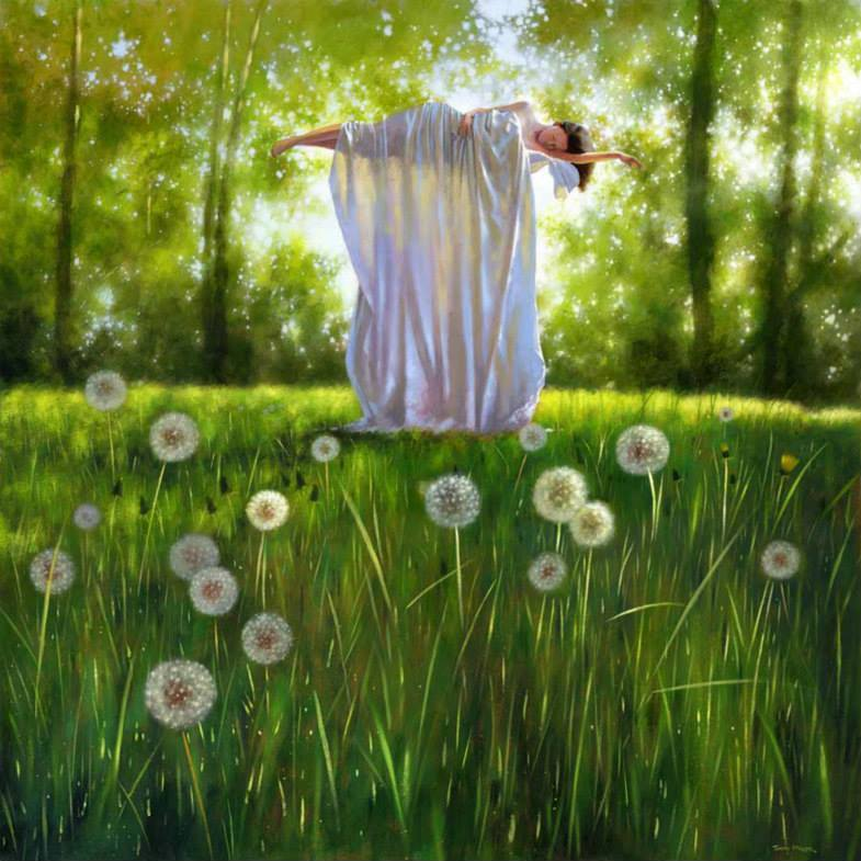day dream surreal paintings by jimmy lawlor