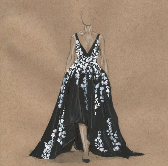 fashion drawings by 3alya
