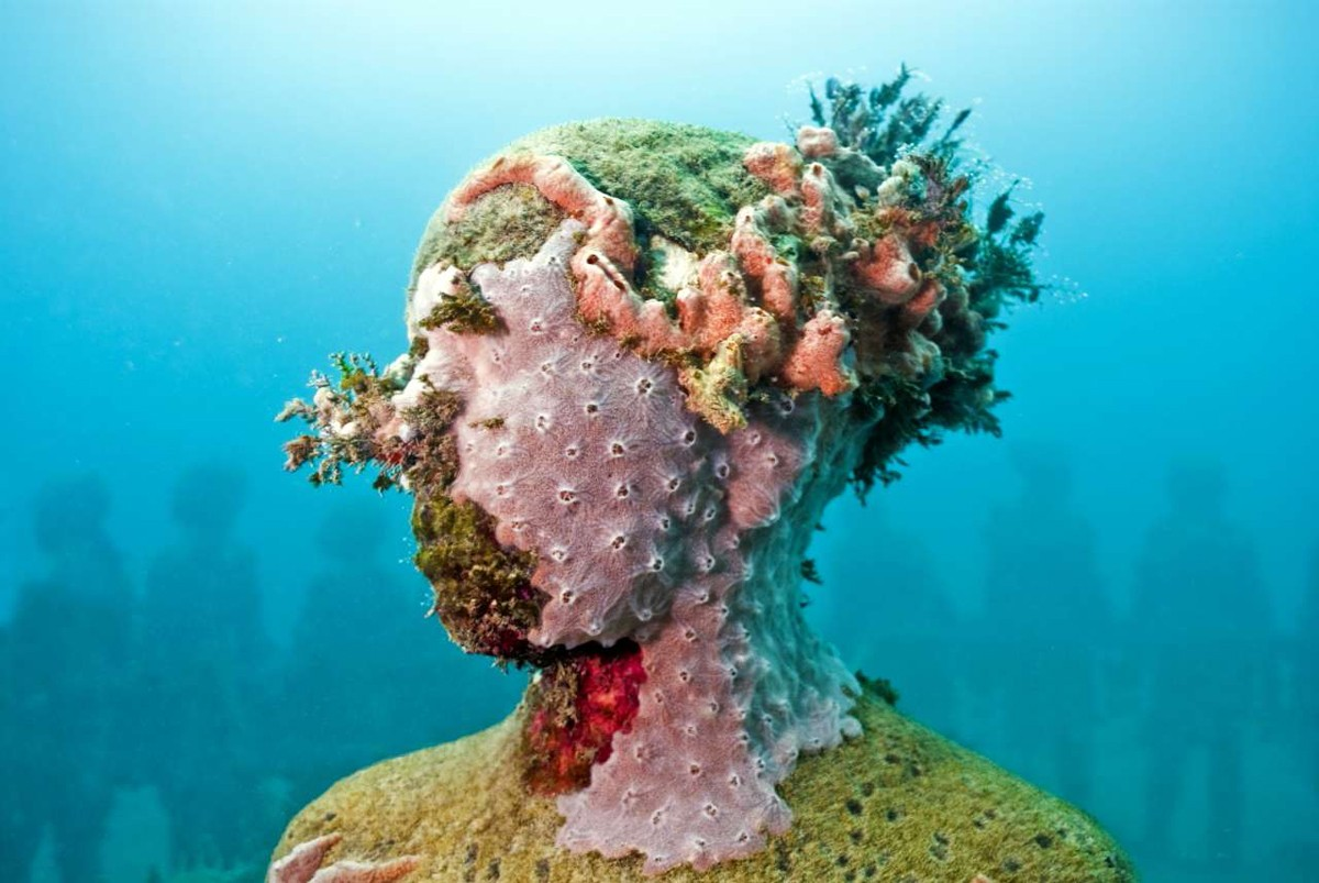 human nature underwater sculptures by taylor