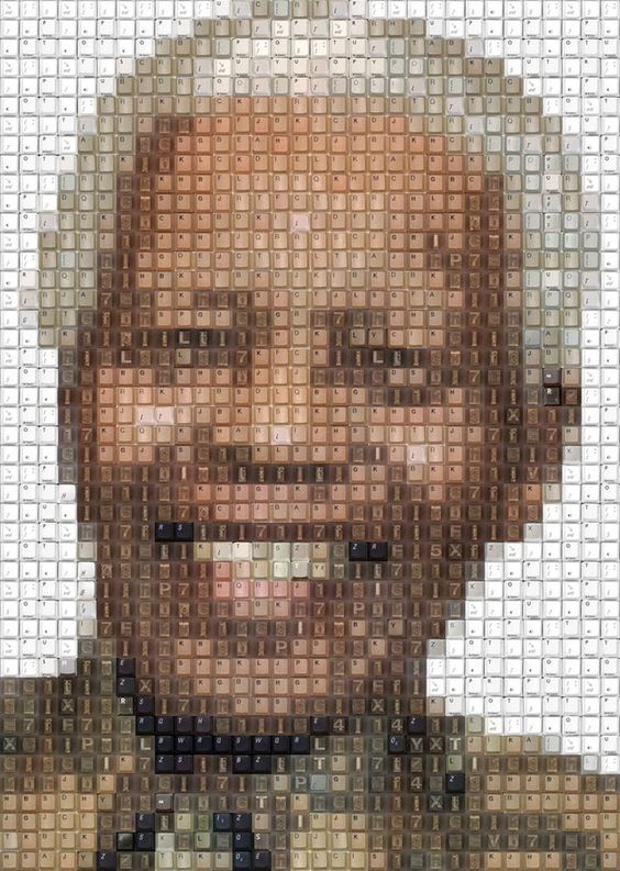 nelson mandela portrait drawing by knight