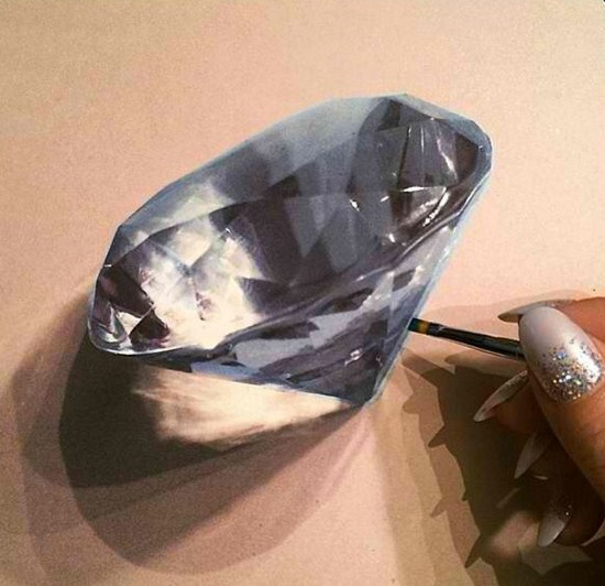 cristal pencil drawing by stacy jean
