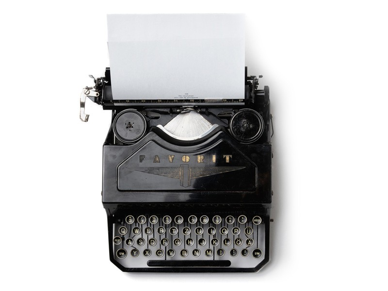 typewriter realistic finger paintings by jaime sanjuan